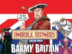 Horrible Histories: Barmy Britain is touring car parks (PA)