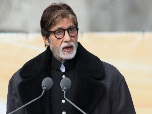 Amitabh Bachchan (Daniel Leal-Olivas/PA)