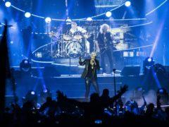 Adam Lambert and Queen (David Jensen/PA)