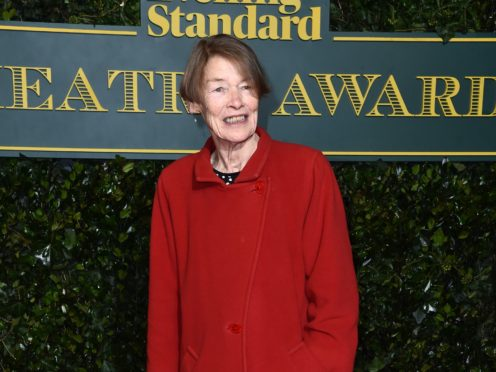 """Contemporary dramatists do not find women """"interesting enough"""" to make them central figures on stage, veteran actress and former MP Glenda Jackson has said (Matt Crossick/PA Wire)"""