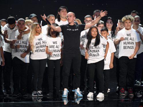 Logic performing at the 2018 MTV Video Music Awards at Radio City Music Hall in New York, USA (PA)