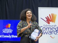 Rose Matafeo won the Edinburgh Comedy Award in 2018 (Jane Barlow/PA)