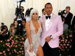 Alex Rodriguez shared a sweet birthday message to fiancee Jennifer Lopez as the pop superstar celebrated turning 51 (Jennifer Graylock/PA)
