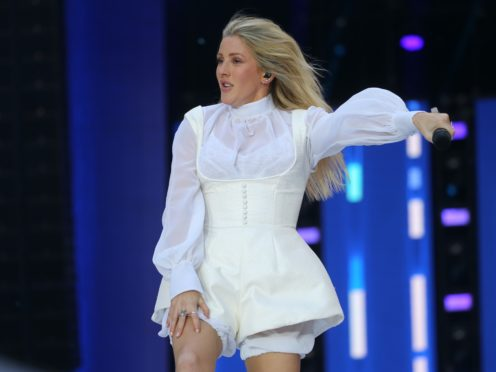 Ellie Goulding's latest album is called Brightest Blue (Isabel Infantes/PA)