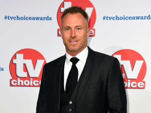 Former Strictly Come Dancing star James Jordan has revealed his father has been diagnosed with terminal cancer (Matt Crossick/PA)
