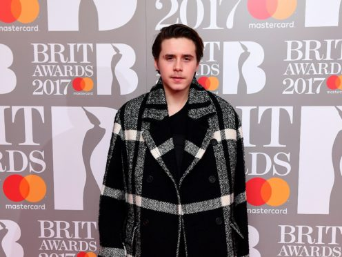 Brooklyn Beckham, who is celebrating his 21st birthday (PA)