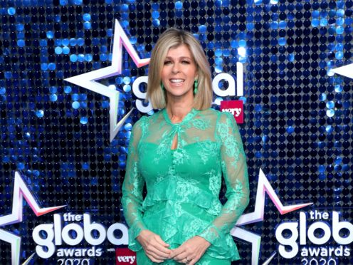 Kate Garraway is back in front of the camera this week (Lia Toby/PA)