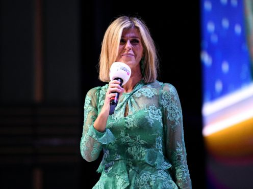 Presenter Kate Garraway has returned to Good Morning Britain (Scott Garfitt/PA)