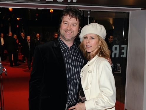 Kate Garraway and her husband Derek Draper (Tim Ireland/PA)