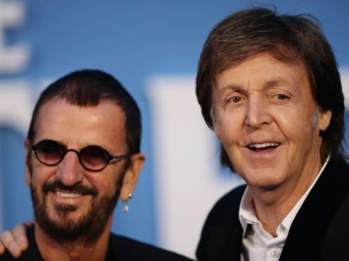 Paul McCartney and Ringo Starr have recorded together again (Yui Mok/PA)