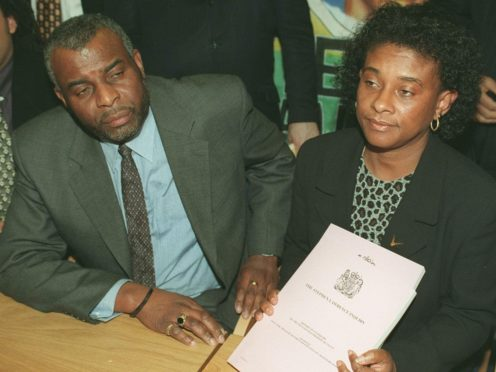 Neville and Doreen Lawrence (Michael Stephens/PA)