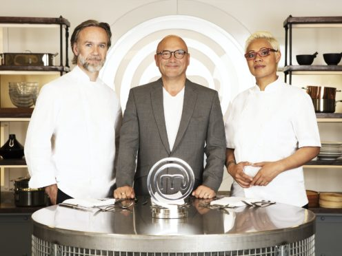 MasterChef: The Professionals judges Marcus Wareing, Gregg Wallace and Monica Galetti (BBC/Shine TV/PA)