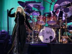 Stevie Nicks addressed the politicisation of mask-wearing and social distancing in the US (Yui Mok/PA)
