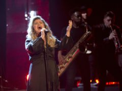Kelly Clarkson is filling in for Simon Cowell as a judge on America's Got Talent (Isabel Infantes/PA)