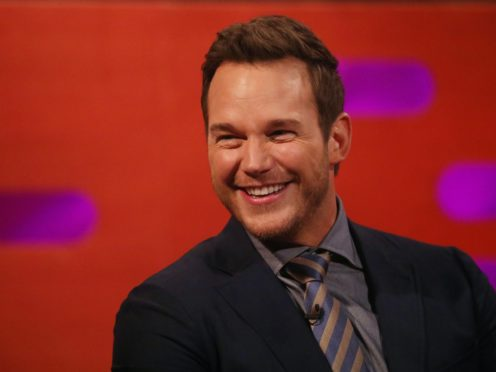 Chris Pratt on The Graham Norton Show (Isabel Infantes/PA)