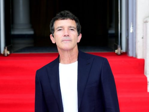 Hollywood actor Antonio Banderas said he has overcome coronavirus after spending 21 days in 'disciplinary confinement' (Ian West/PA)