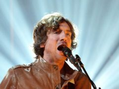 Gary Lightbody of Snow Patrol said he was helped to write lyrics by fans (Nick Ansell/PA)