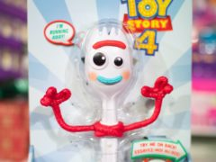 Forky was voiced by Tony Hale (Aaron Chown/PA)