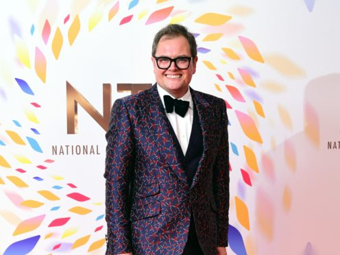Alan Carr (Ian West/PA)
