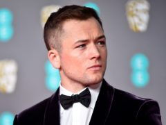 Taron Egerton attending the 73rd British Academy Film Awards held at the Royal Albert Hall, London (PA)