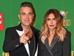 Robbie Williams and Ayda Field (Jacob King/PA)