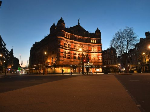 The Palace Theatre in London's West End (Victoria Jones/PA)