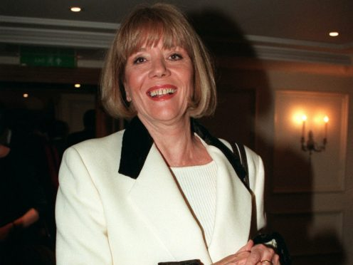 Dame Diana Rigg (Fiona Hanson/PA)