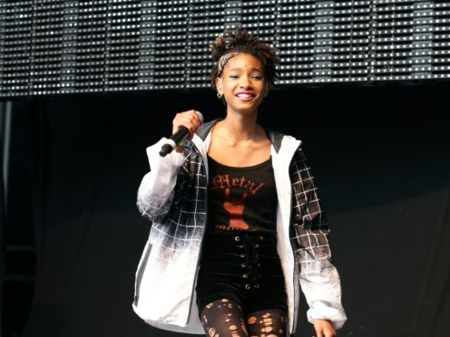 Willow Smith said she is 'so proud' of mother Jada Pinkett Smith for publicly discussing her 'entanglement' with another man (Yui Mok/PA)