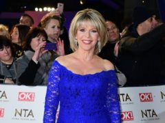 Ruth Langsford said she has spent a lot of time crying (Ian West/PA)