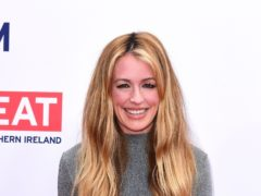 Cat Deeley joined Ant and Dec for the reunion show (Ian West/PA)