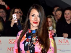 Lacey Turner has had two miscarriages (Matt Crossick/PA)