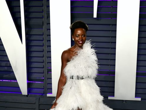 Lupita Nyong'o has shared a heartfelt tribute to her Black Panther co-star Chadwick Boseman (Ian West/PA)