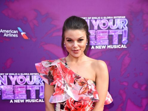 Faye Brookes has joined the line-up on Dancing On Ice (Ian West/PA)