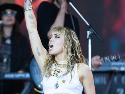 Miley Cyrus has revealed the advice she would give to other young musicians (Aaron Chown/PA)