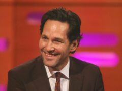 Paul Rudd wants you to wear a mask (Isabel Infantes/PA)