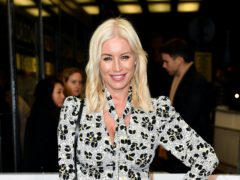 Denise Van Outen will be taking to the ice next year (Matt Crossick/PA)