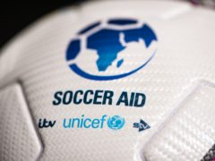 ITV has said it incorrectly announced the total donations raised during Soccer Aid as £11.5 million when if fact the event raised £9.3 million (Daniel Hambury/UNICEF/Soccer Aid 2020)