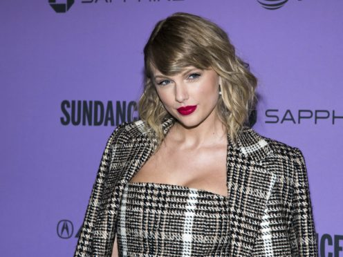 Taylor Swift went back to her roots for a stripped-down performance at the 55th Academy of Country Music (ACM) Awards (Charles Sykes/Invision/AP, File)