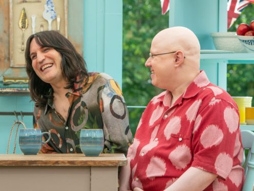 Noel Fielding and Matt Lucas (C4/Love Productions/Mark Bourdillon/PA)