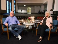 Dave Johns and Alison Steadman (Ian West/PA)