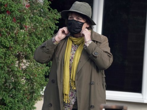 Actress Brenda Blethyn playing DCI Vera Stanhope (Owen Humphreys/PA)