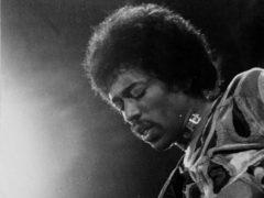 Jimi Hendrix on stage (PA)