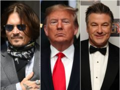 Johnny Depp and Alec Baldwin are among the stars to have played Donald Trump (Kirsty O'Connor/Steve Parsons/Ian West/PA)