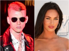 Machine Gun Kelly said it was love at first sight with girlfriend Megan Fox as he opened up on their whirlwind romance (Ian West/PA)