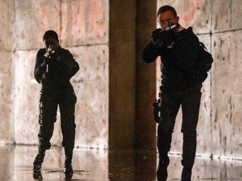 Nomi (Lashana Lynch) and James Bond (Daniel Craig) in No Time To Die (Nicola Dove/EOn/MGM)
