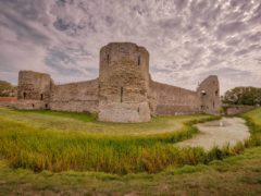 Pevensey Castle (English Heritage/PA)