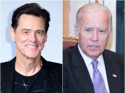 Jim Carrey will play US presidential hopeful Joe Biden on Saturday Night Live (Ian West/Barry Cronin/PA)