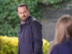 Mick Carter is played by Danny Dyer (Kieron McCarron/BBC)