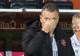 Dundee United boss Micky Mellon admits stoppage-time defeat was a 'sore one'