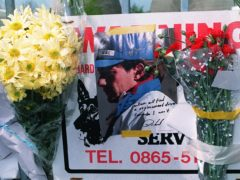 Senna died at the Imola racetrack in Italy in 1994 (Adam Butler/PA)
